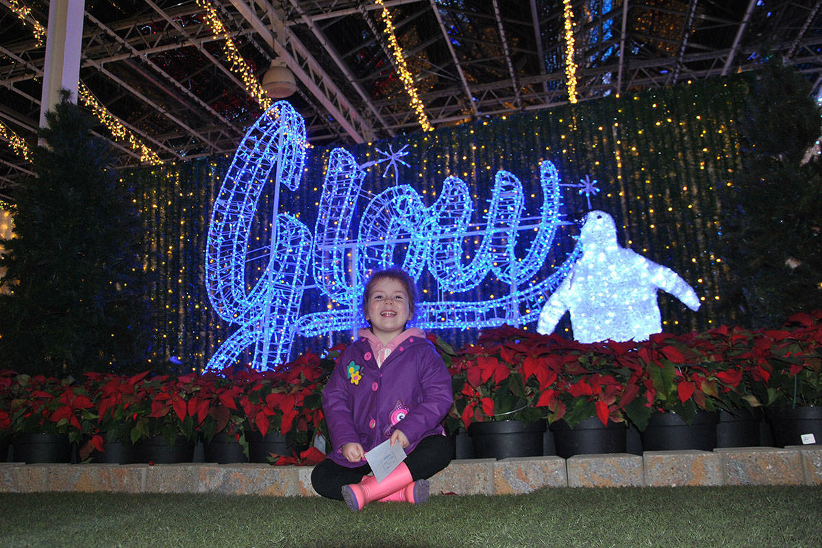 The Glow Gardens light display will be moving to the Greater Vancouver Zoo this year for an outdoor event. (Langley Advance Times files)