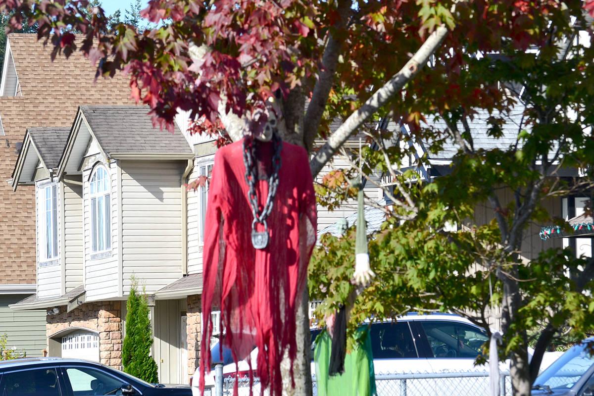 Halloween houses around Aldergrove. (Ryan Uytdewilligen/Aldergrove Star)