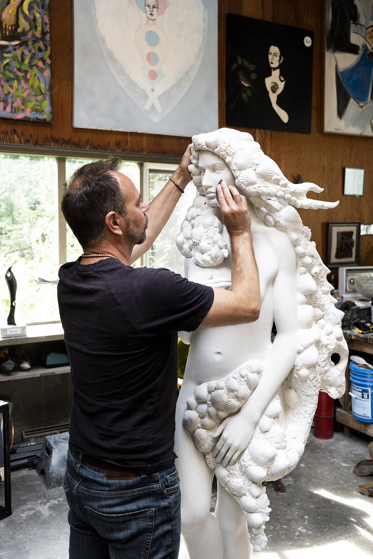 Sculptor David Hunwick. (Lia Crowe) Sculptor David Hunwick. (Lia Crowe) Sculptor David Hunwick. (Lia Crowe) Sculptor David Hunwick. (Lia Crowe)