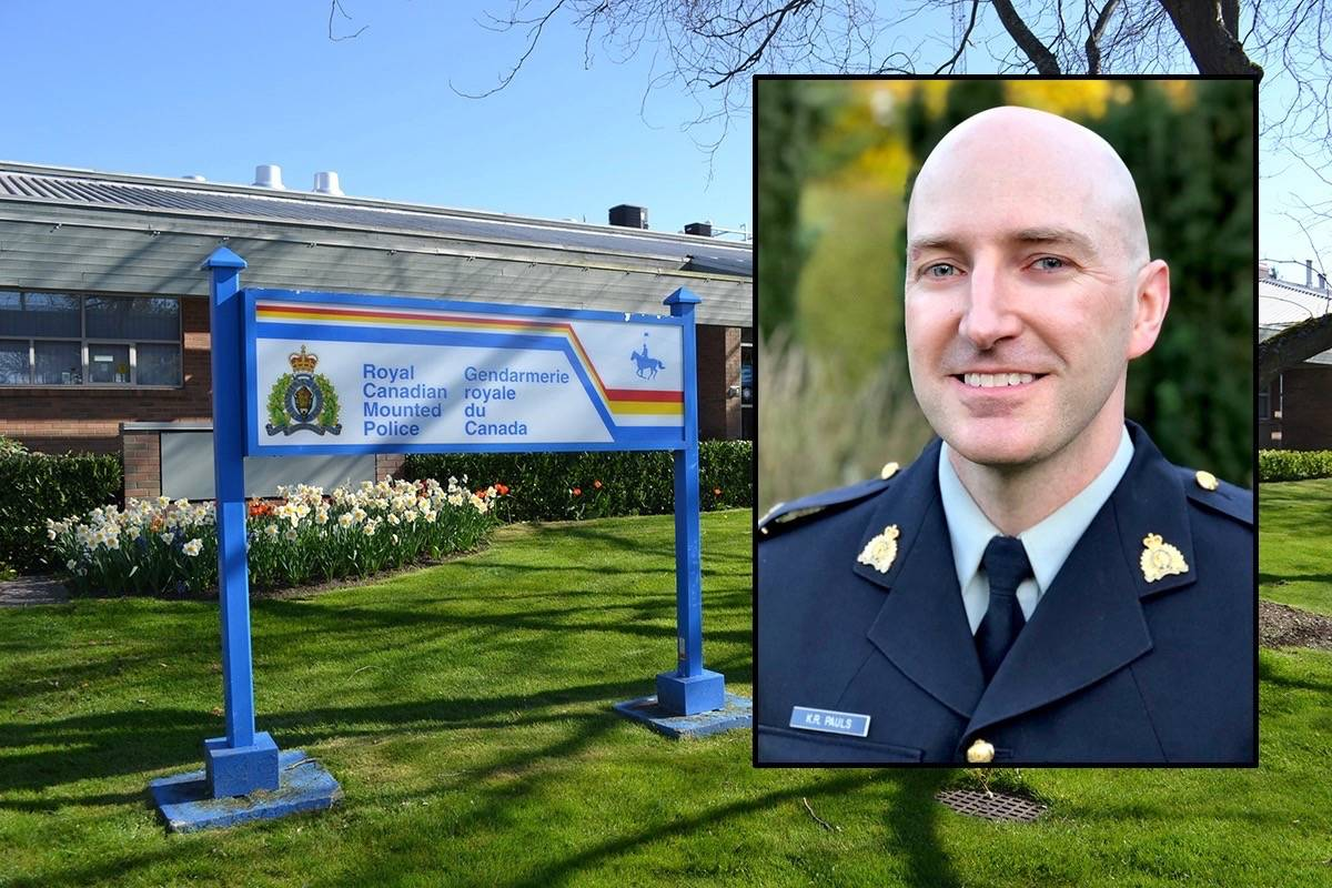 White Rock RCMP Staff Sgt. Kale Pauls has released a report on mental health and policing in the city. (File photos)