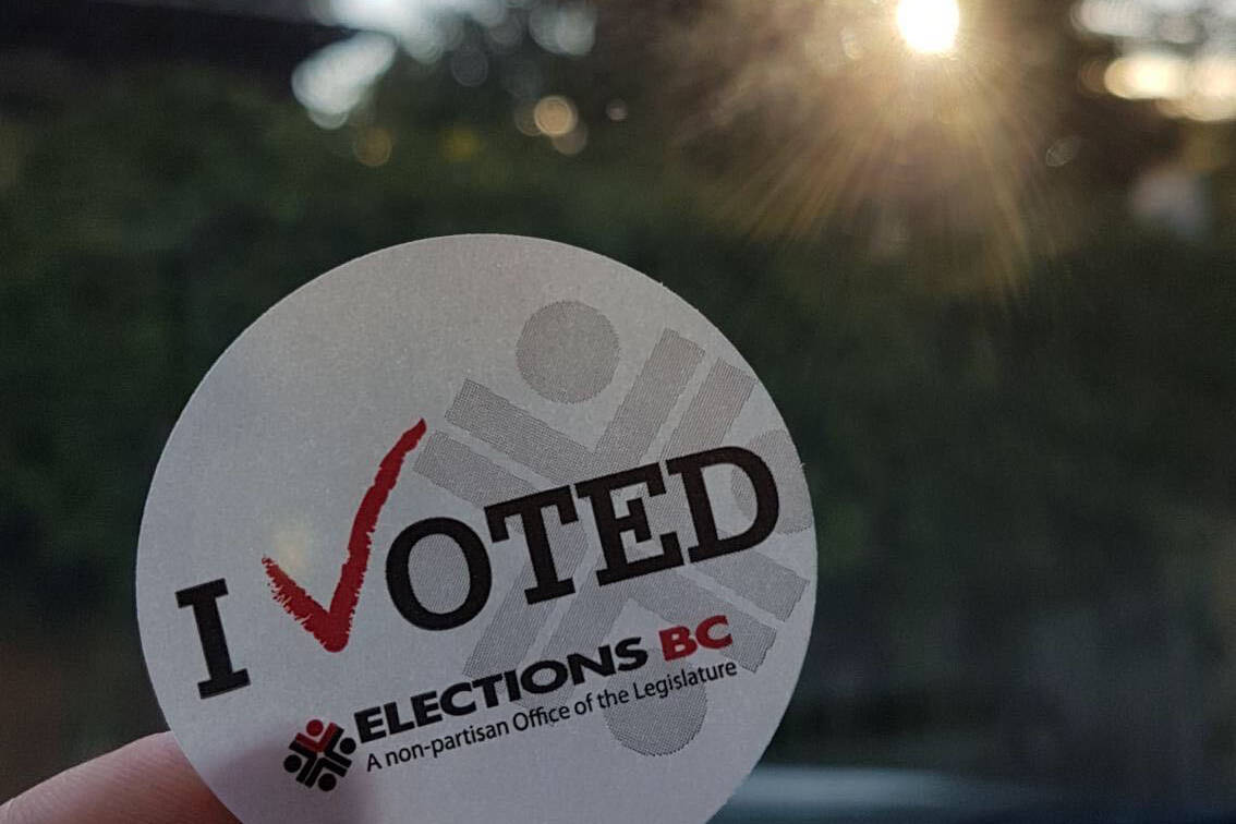 Polling stations close 8 p.m. Oct. 24. (Black Press Media file)