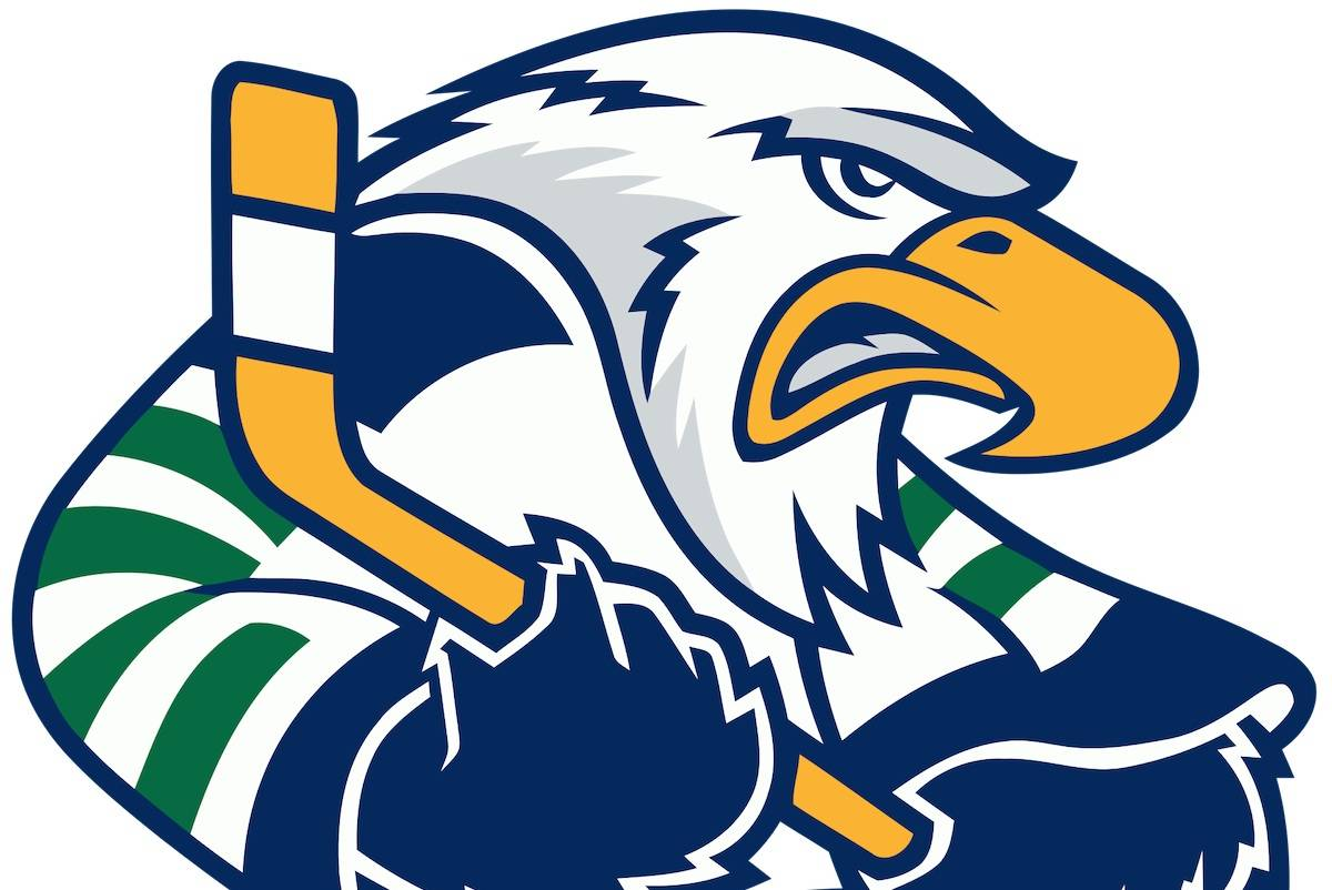 The Surrey Eagles logo.