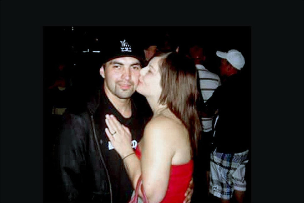 It's been eight years since Gordon Spencer (pictured), and cousin, 'Lil' Bruce Mayo, were gunned down in a home in Langley, and Spencer's widow is hoping someone who knows something will step up (file)