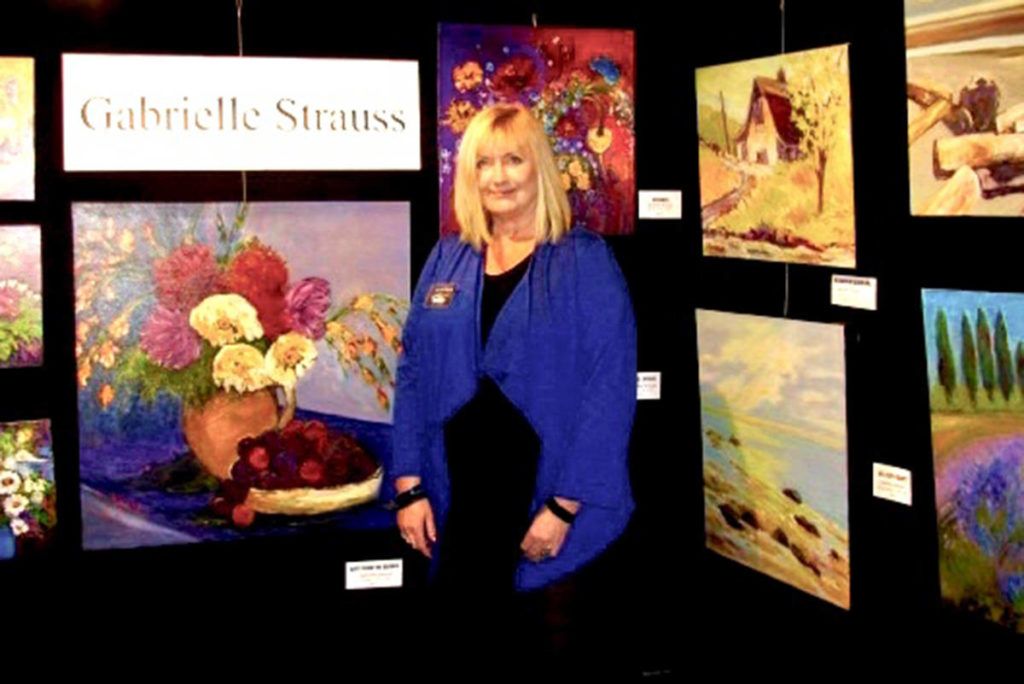 Gabrielle Strauss is one of the local artists taking part in the Langley Art Council's Incognito exhibition. (Gabrielle Strauss/Special to the Aldergrove Star)