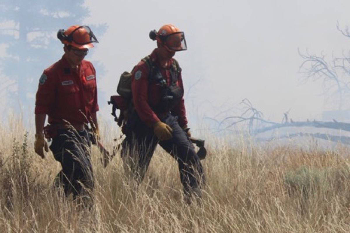16 BC Wildfire Service firefighters who tested positive for COVID-19 after being deployed to California are staying in Richmond, B.C. at a quarantine facility. (BC Wildfire Service file photo)