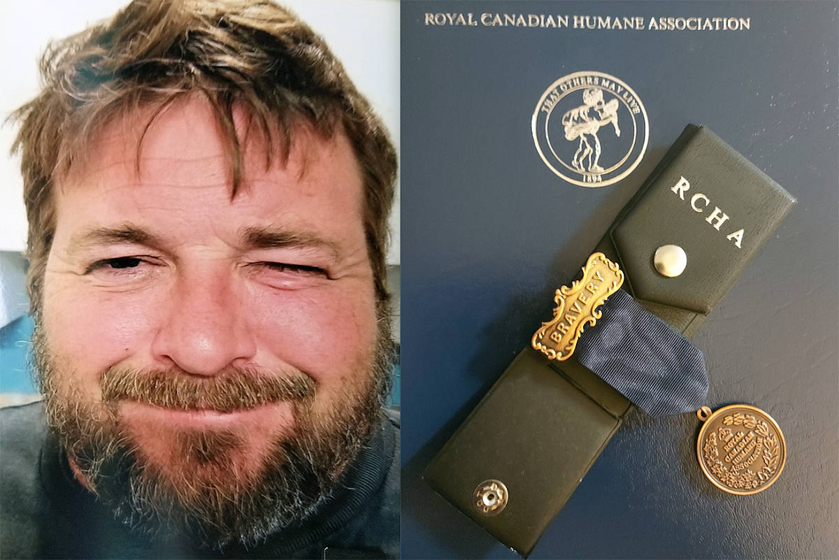 Langley resident Shaun Nugent, who died in 2019 shortly after he saved a swimmer from drowning, has been awarded a posthumous medal for bravery by the Royal Canadian Humane Association (Courtesy Nugent family)