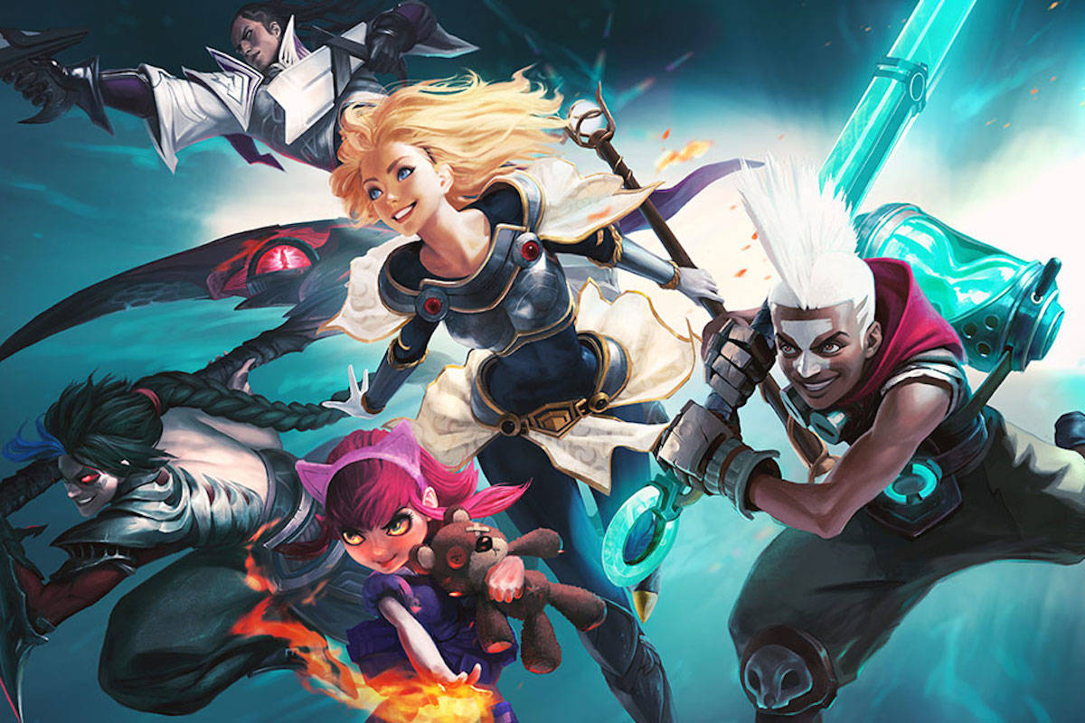 Some of the characters in the League of Legends video game. (Photo: na.leagueoflegends.com)