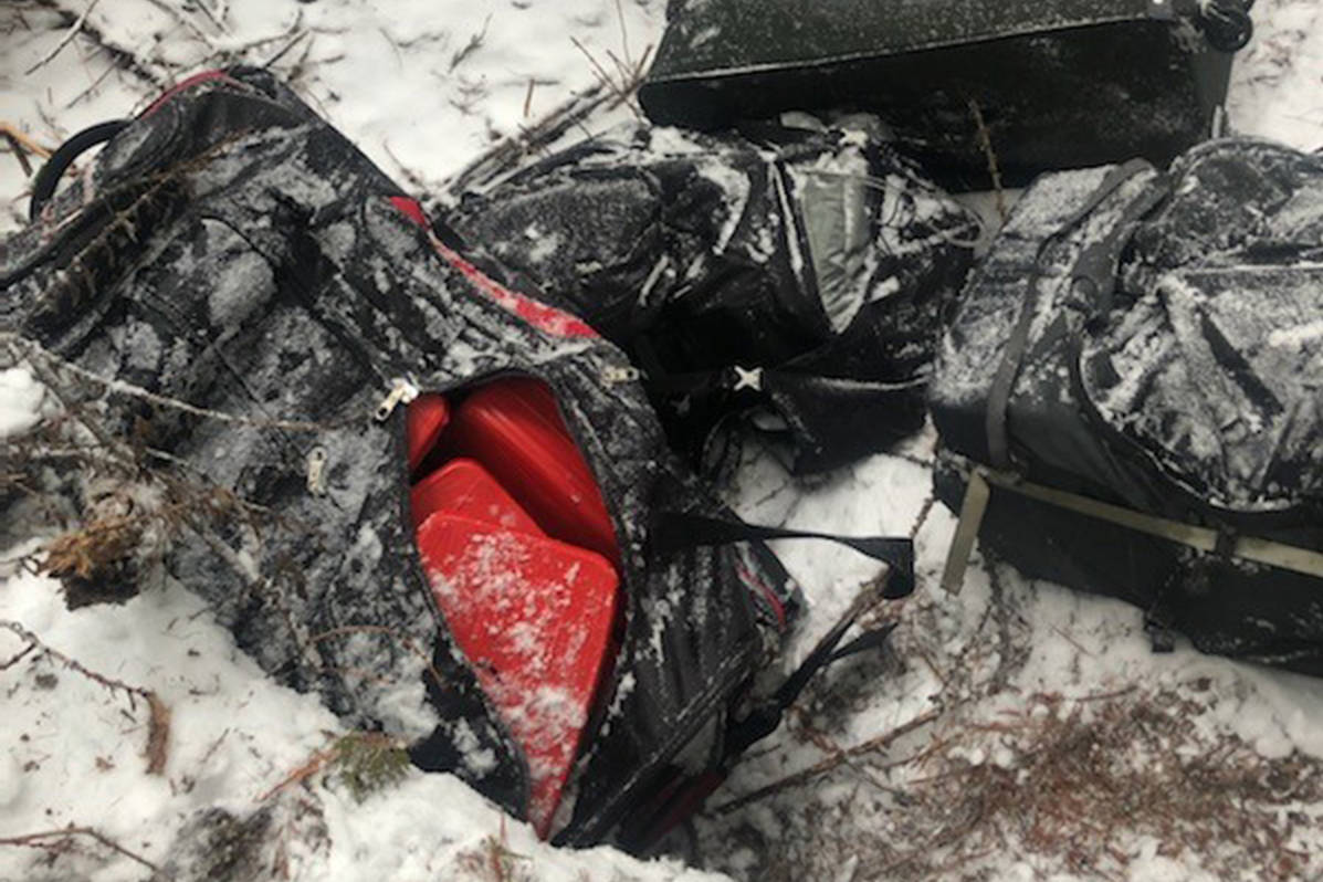 The duffel bags were found to contain 84 pounds of cocaine, valued at approximately $1.2 million and 198 pounds of methamphetamine, valued at approximately $960,000. Photo courtesy U.S. Customs and Border Protection.