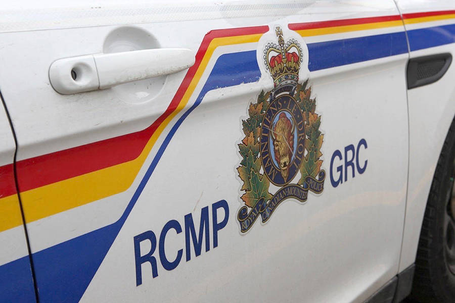A man was arrested in Nanaimo for spray-painting an RCMP vehicle. (File photo)