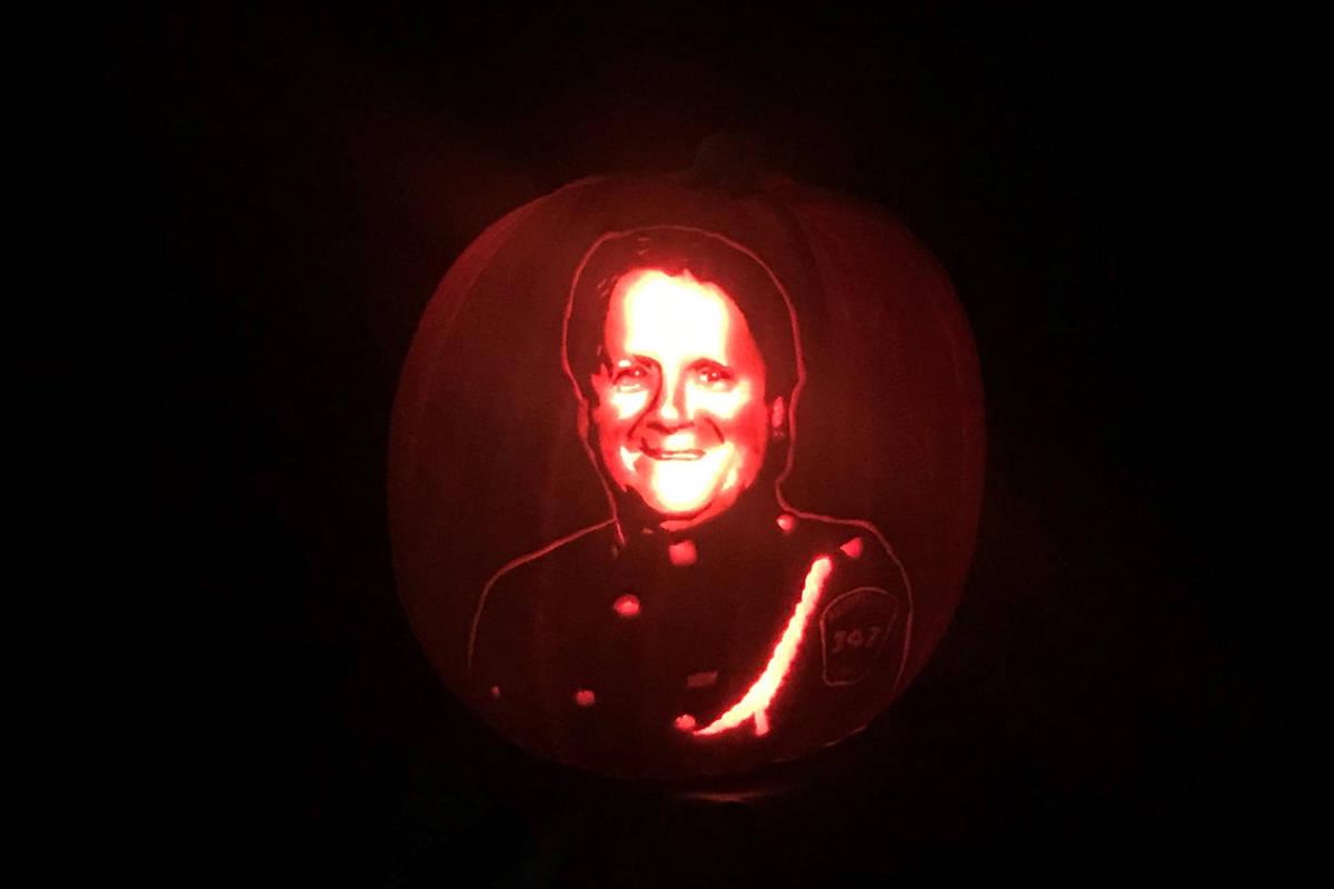 Rick Chong pumpkin