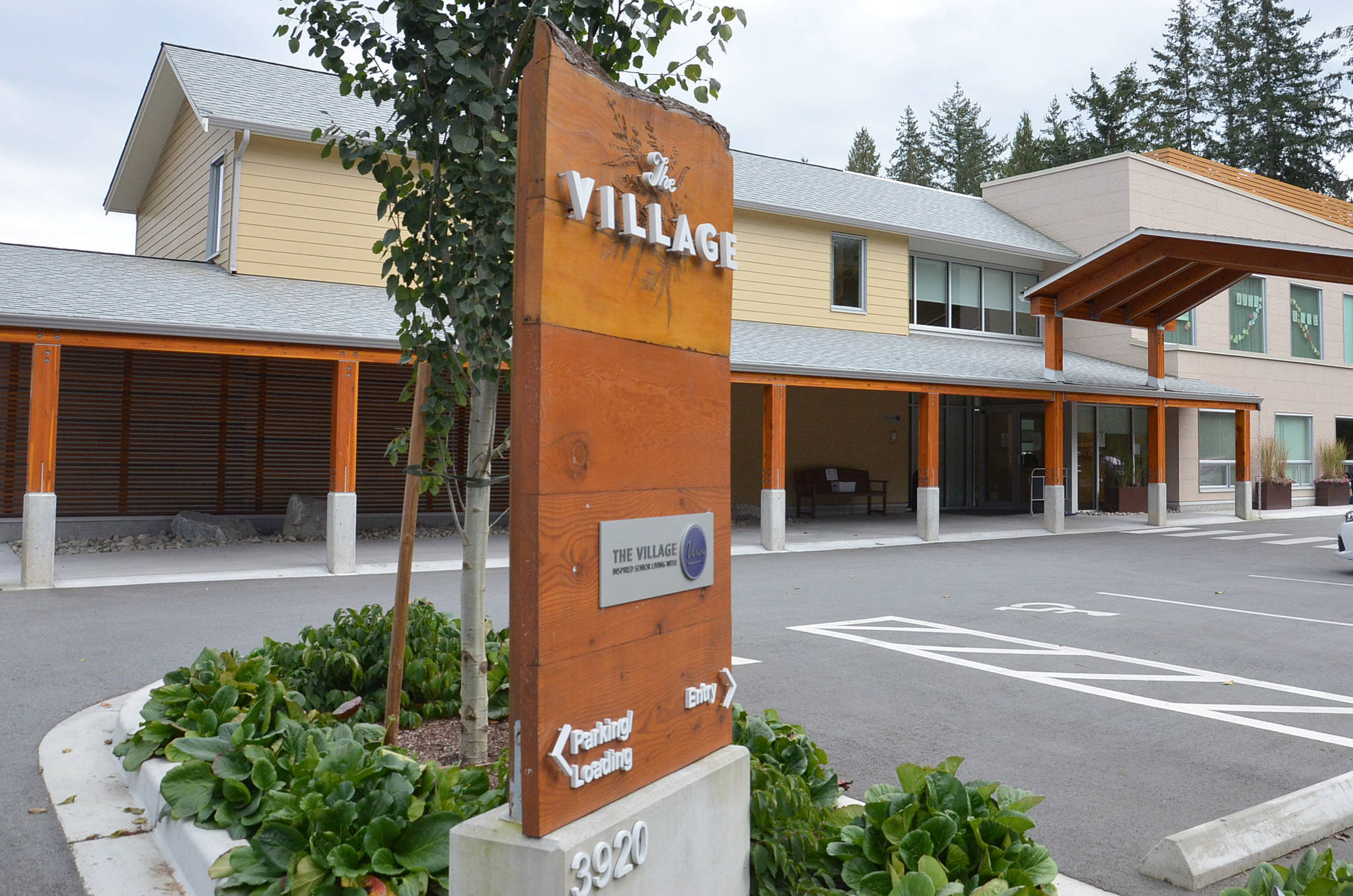 The Village, a secure dementia facility, opened in Brookswood a few years back. It was the subject of a recent COVID outbreak, which was declared over on Oct. 30, 2020. (Heather Colpitts/Langley Advance Times)
