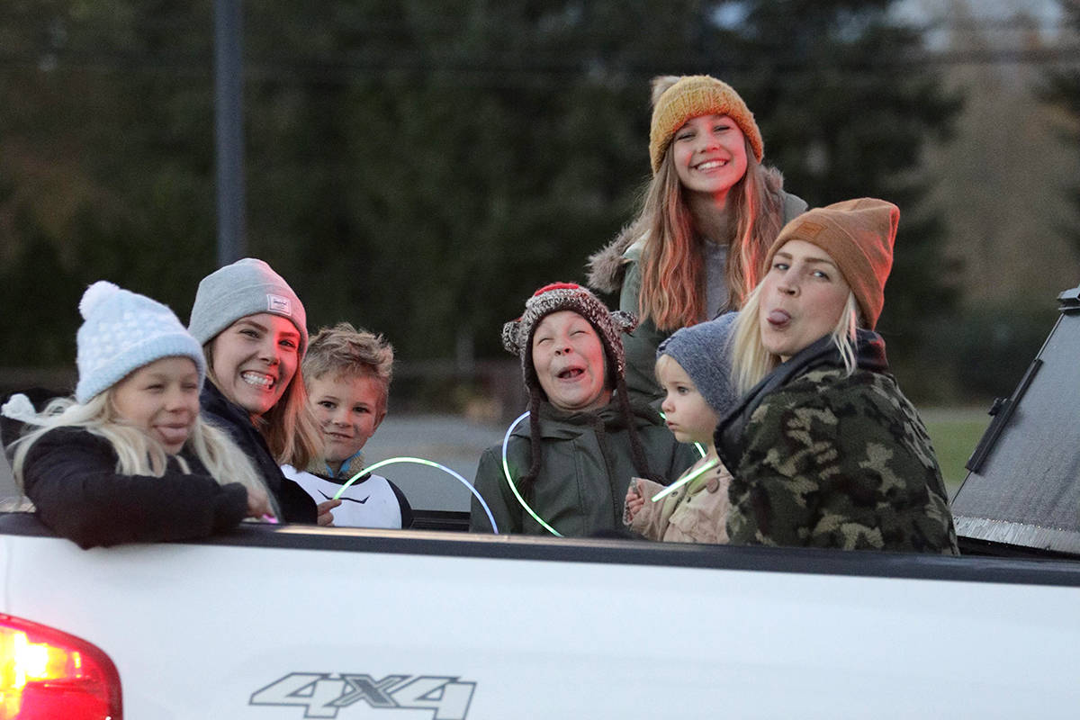Southridge Church hosted a drive-thru family evening on Oct. 30, 2020. (Craig Murphy and Jordan Beaumont/Southridge Church/Special to the Langley Advance Times)