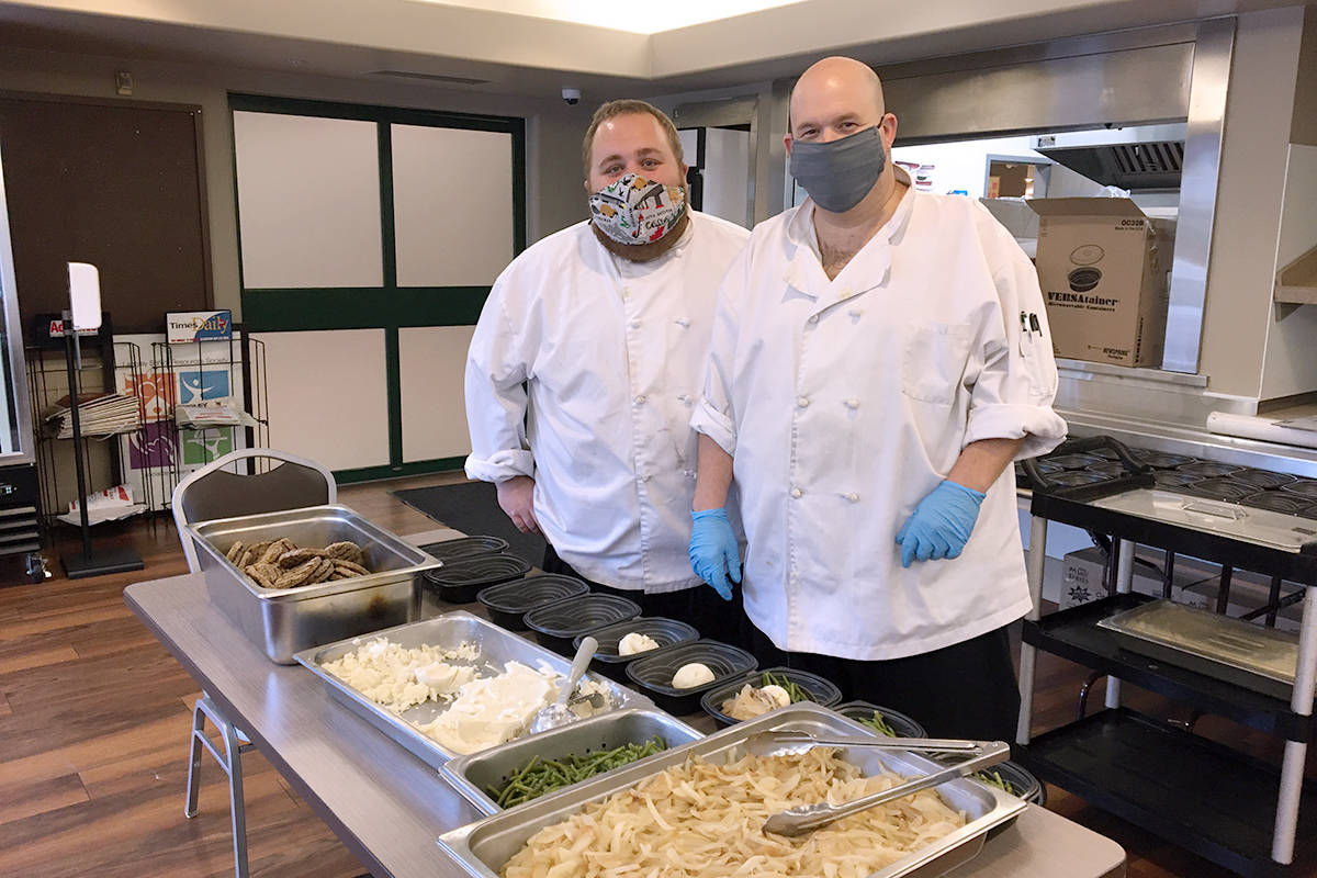 Since May 2020, the Langley Seniors Resource Centre has been providing meals for seniors in need through its Outreach Meal Program. (LSRC/Special to the Langley Advance Times)