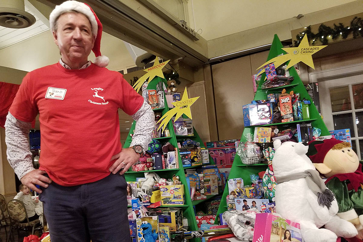 Toy mountain reached new heights last year after generous donations made by guests who attended the third annual Christmas Wish Breakfast hosted at Newlands Golf & Country Club in support of the Langley Christmas Bureau. (Langley Advance Times file)