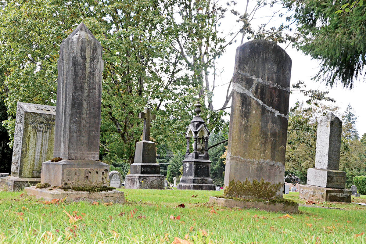 Fort Langley Cemetery was created as a local community burial plot in 1881, and is one of the oldest cemeteries in Langley. (Langley Advance Times files)