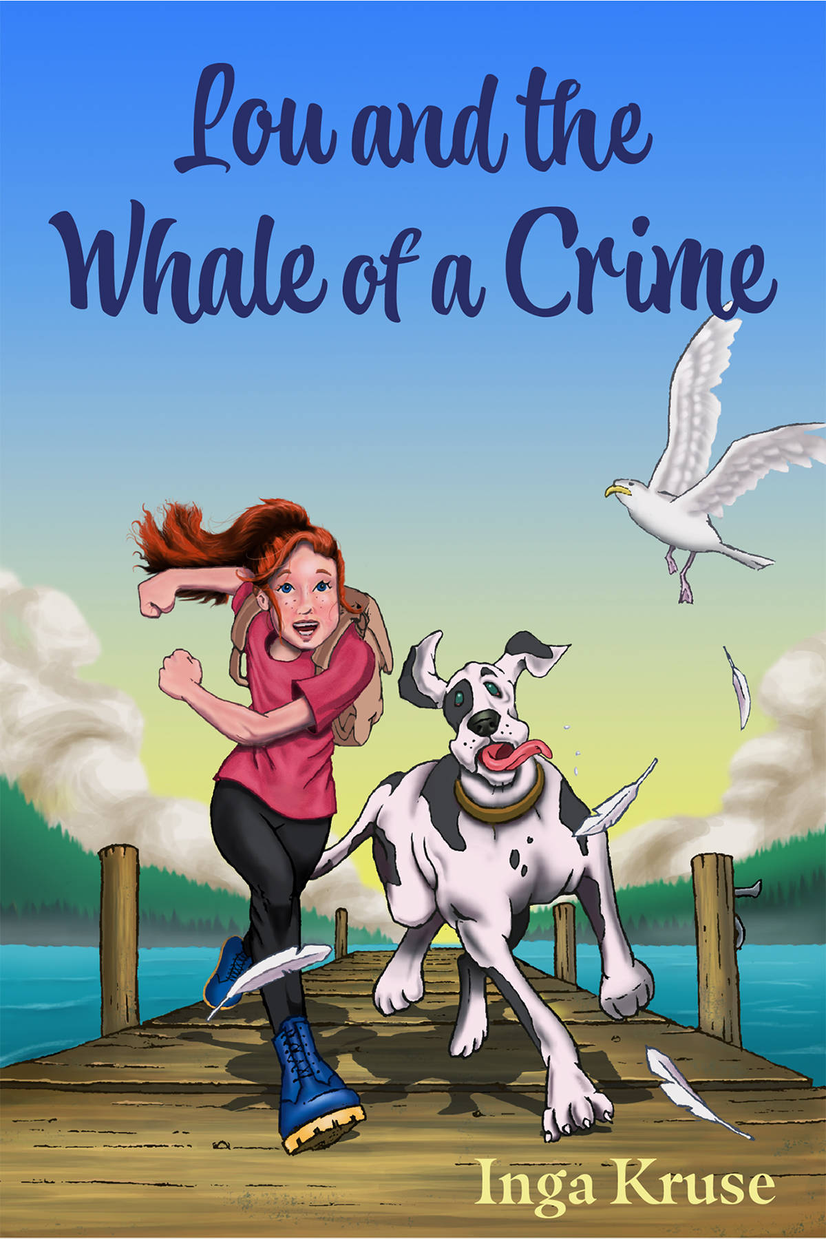 Inga Kruse wrote and published her first book, Lou and the Whale of a Crime. (Inga Kruse/Special to the Aldergrove Star)