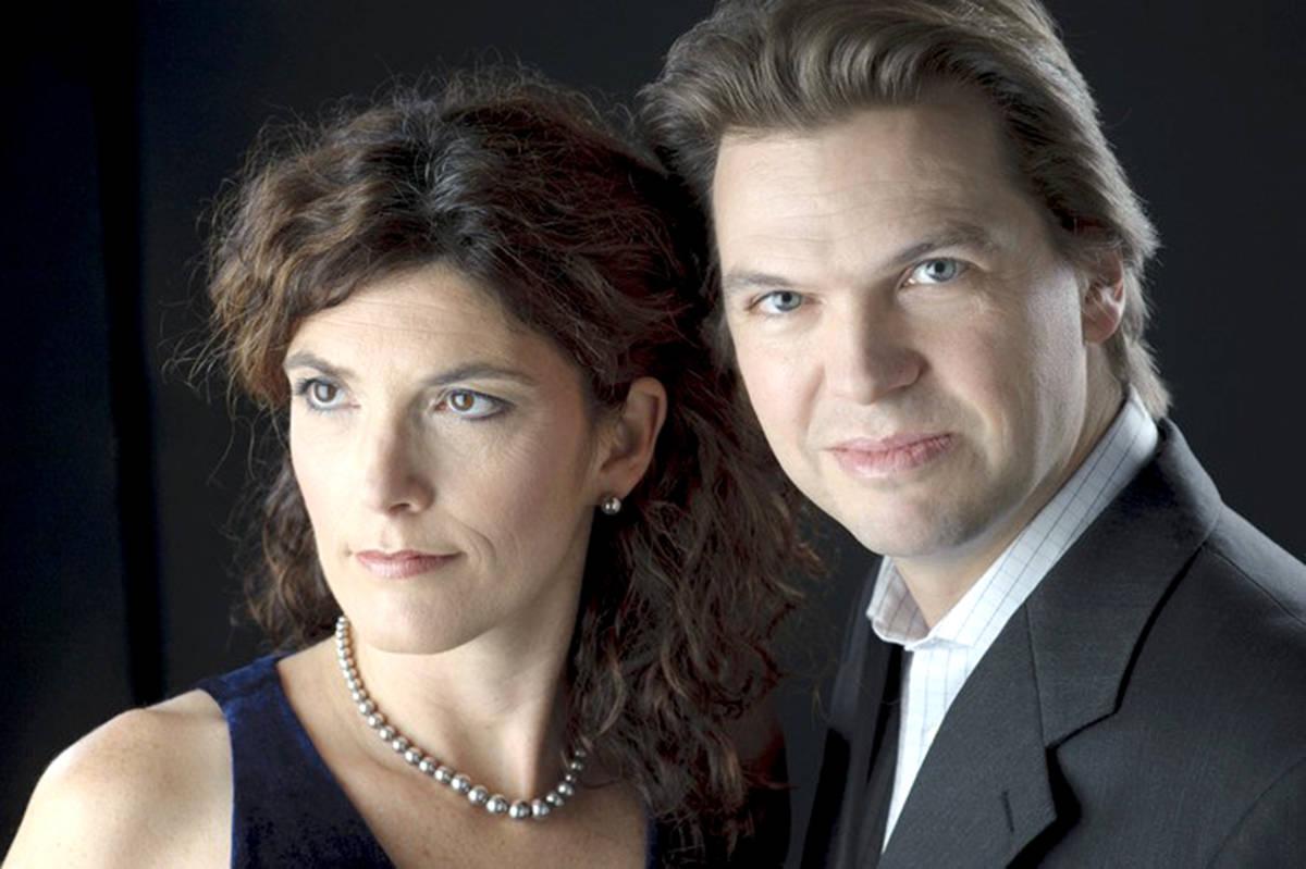 The Bergmann duo perform Langley Community Music School's opening Concerts Café Classico series. (Black Press Media files)