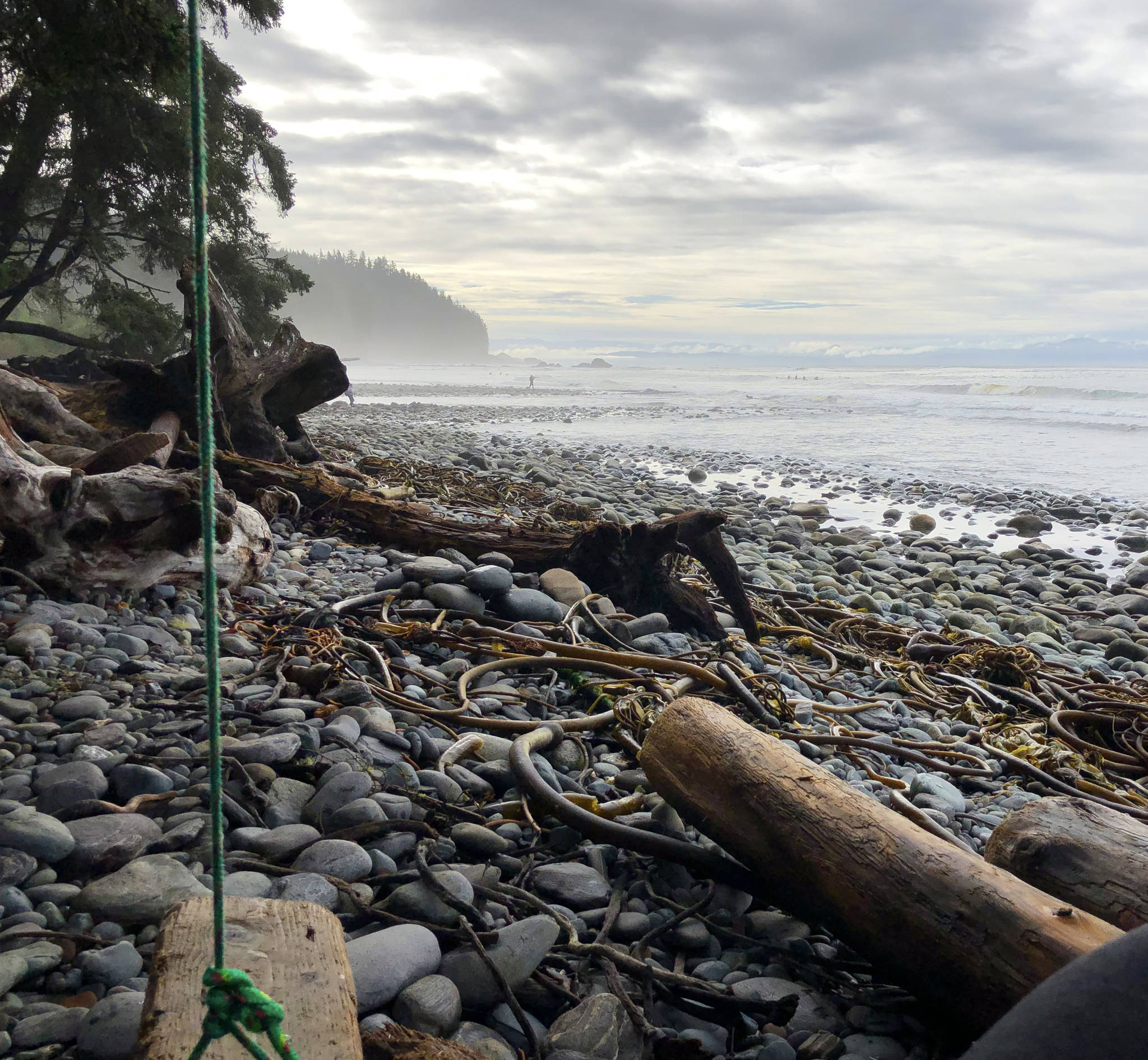 Featuring giant rocks, pounding surf and massive kelp forests, Sombrio is an excellent stop when exploring Southern Vancouver Island. Amy Attas photo.