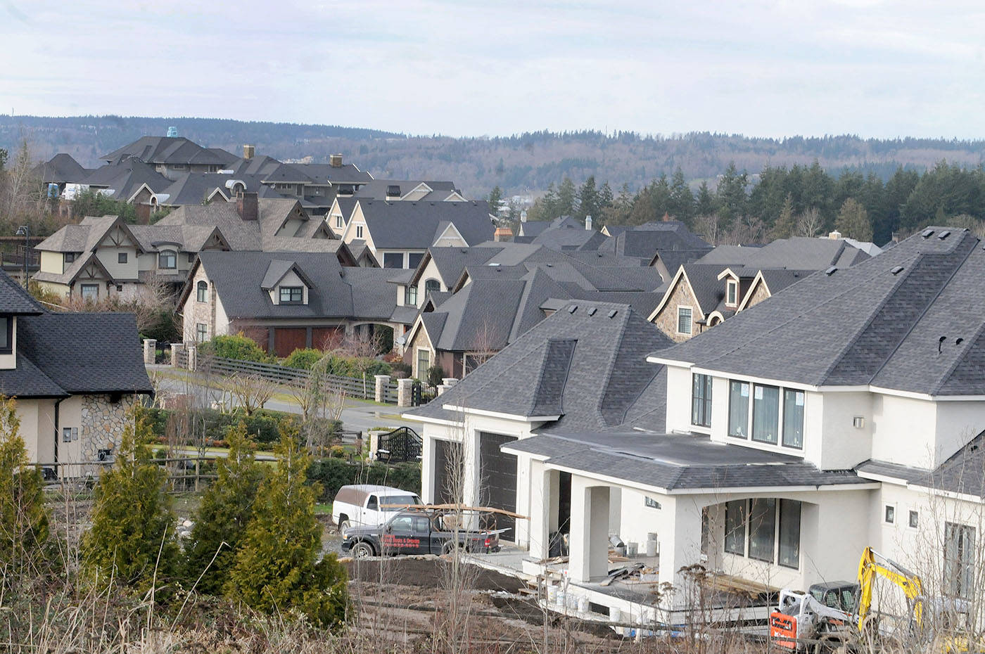 Langley homes continued to sell at a rapid pace in October. (Langley Advance Times files)