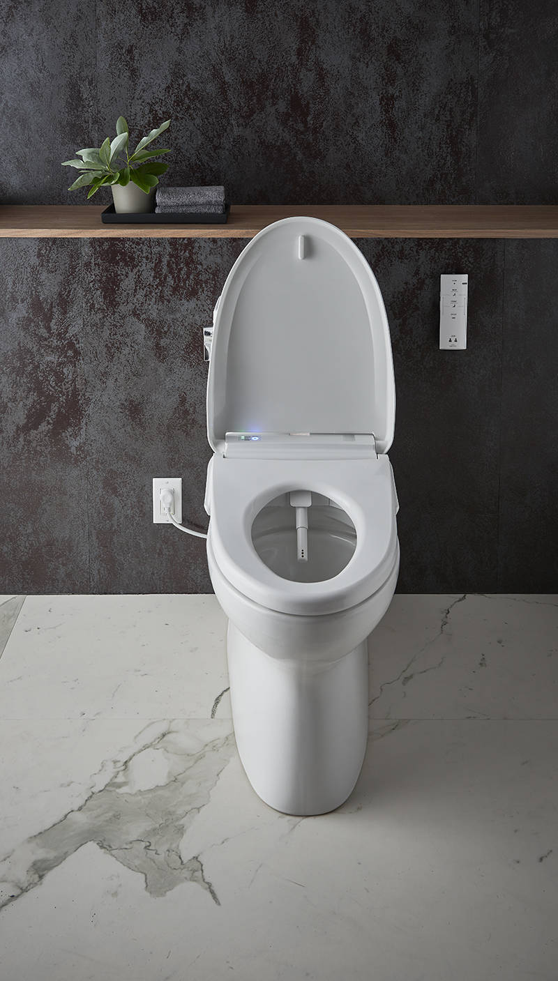 Many people considering a bidet toilet or bidet seat appreciate the environmental and cost benefits of using far less toilet paper.