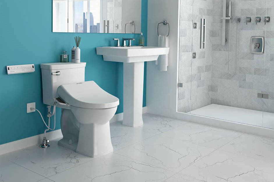 American Standard's SpaLet taps into the growing popularity in North American of bidet toilets and bidet seats.