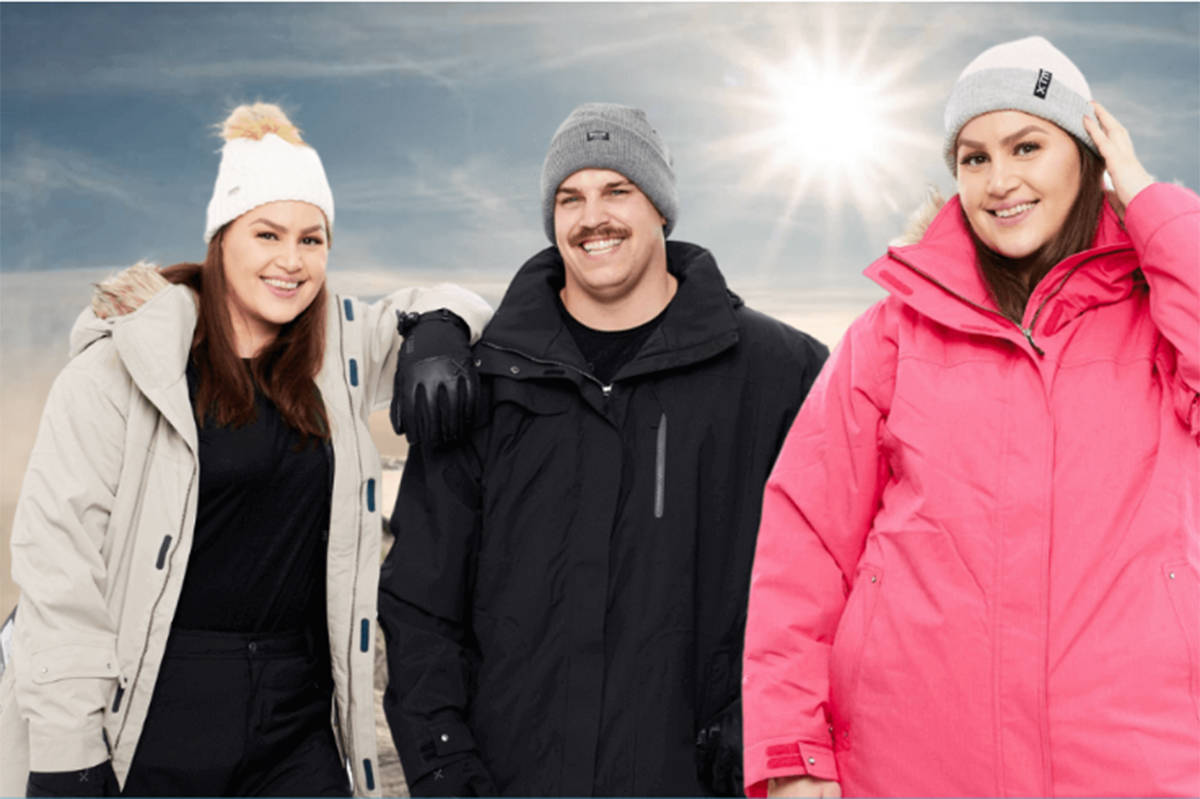 Plus Snow, an Australian company that sells snow gear in plus sizes, recently expanded to North America and the owner of the business is currently working out of Revelstoke. (Plus Snow website)