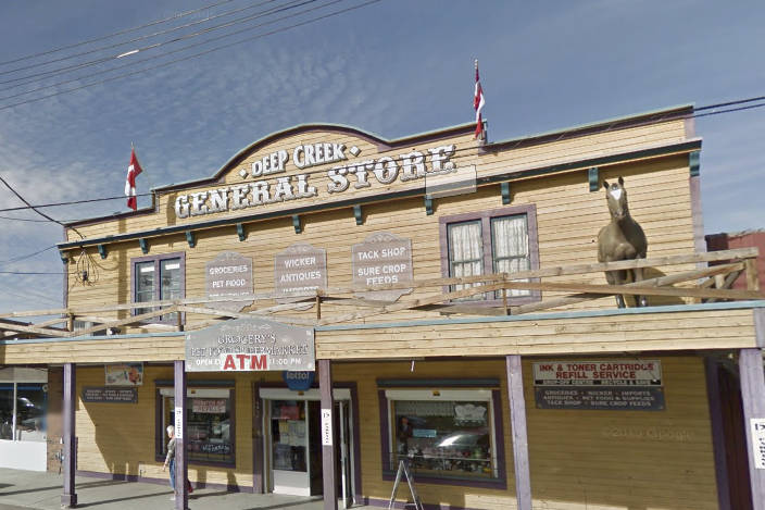 A hearing involving a former employee and former owner of the Deep Creek General Store in Armstrong will go forward after an Oct. 30, 2020, decision was published by the B.C. Human Rights Tribunal. (Google Maps)
