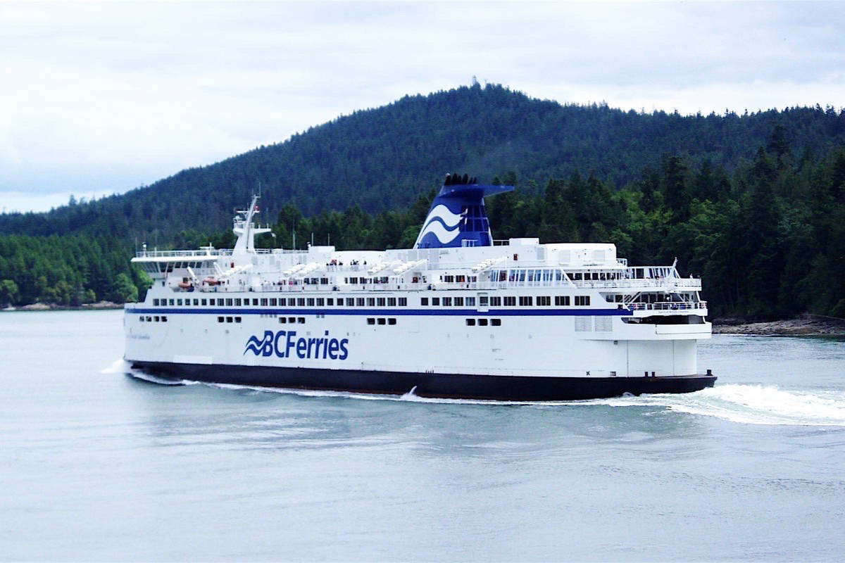 B.C. Ferries is offering free fares to active, reserve and retired military personnel, and cadets on Remembrance Day. (Black Press Media File)