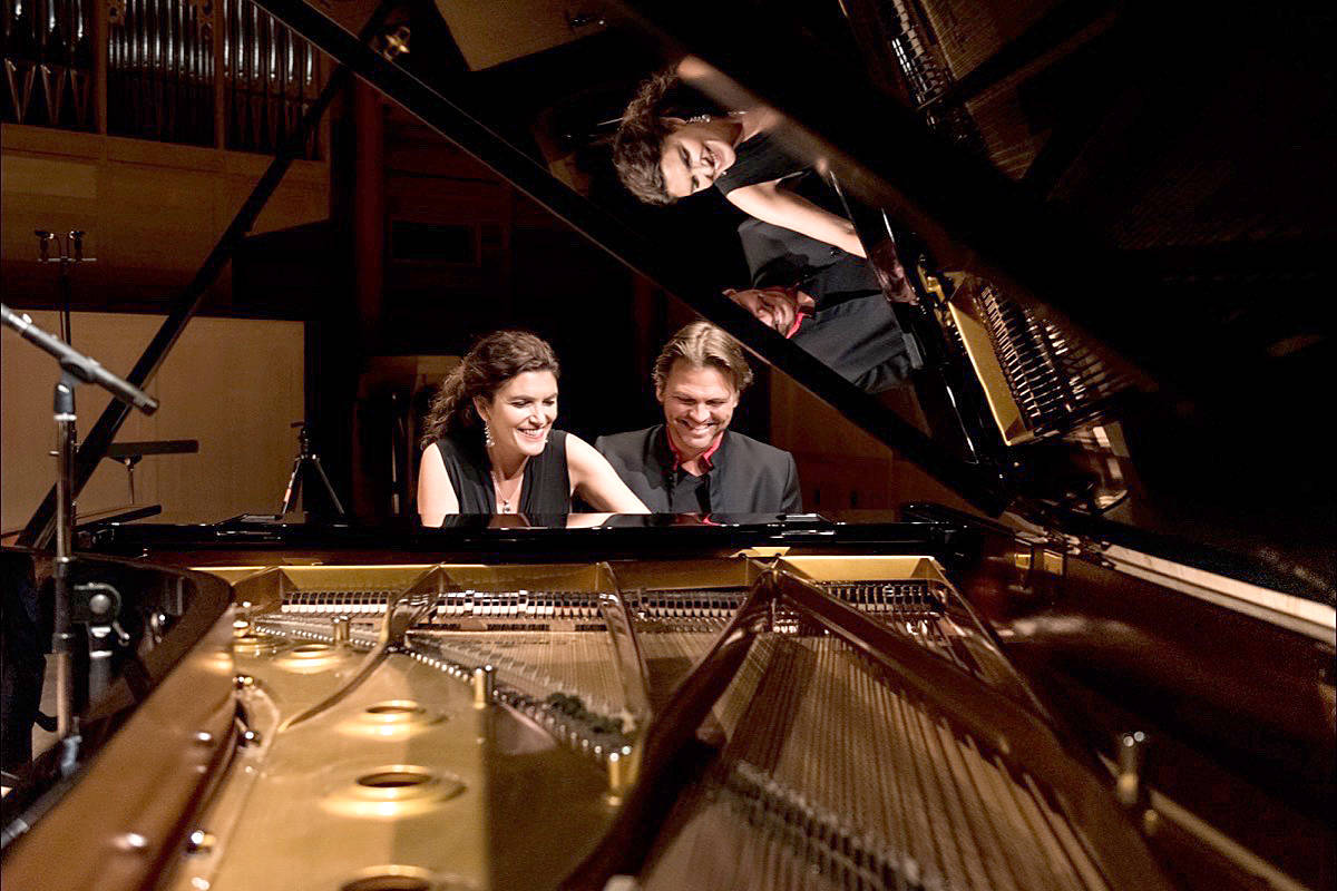 South Surrey's Elizabeth and Marcel Bergmann will present a rare live classical concert Nov. 8 at 3 p.m. at Langley Community Music School, 4899 207 St. (Contributed photo)