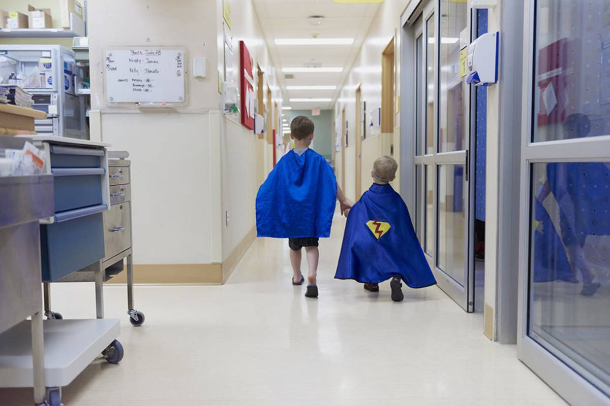 A new UBC study published in the Emergency Medicine Journal on Oct. 29, 2020 found fewer children are visiting ER departments at B.C. hospitals. (Children's Hospital/Facebook)
