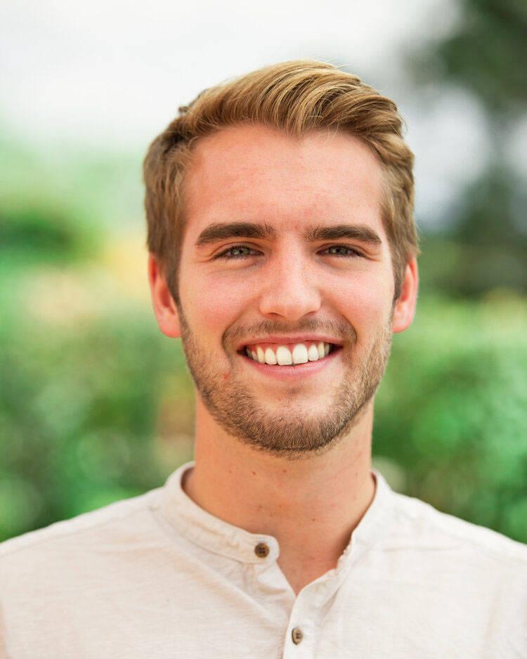 Jordan Koslowsky is valedictorian for the TWU undergraduate class of 2020. (TWU)