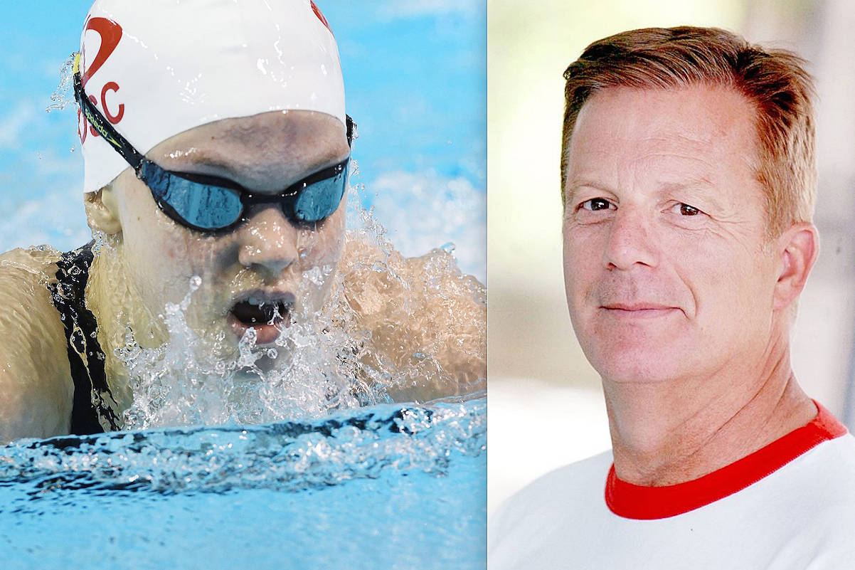 Meet the swimmer and the coach of the year, both from the Langley Olympians Swim Club. Bailey Herbert and Brian Metcalfe won top honours from Swim BC in the first week of November (file)