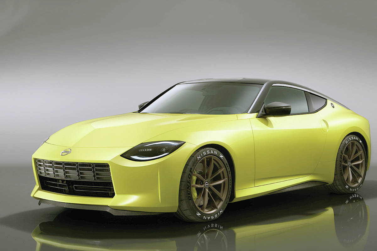A new Nissan Z model will take a few styling cues from the original. Output is expected to be around 400 horsepower: PHOTO: NISSAN