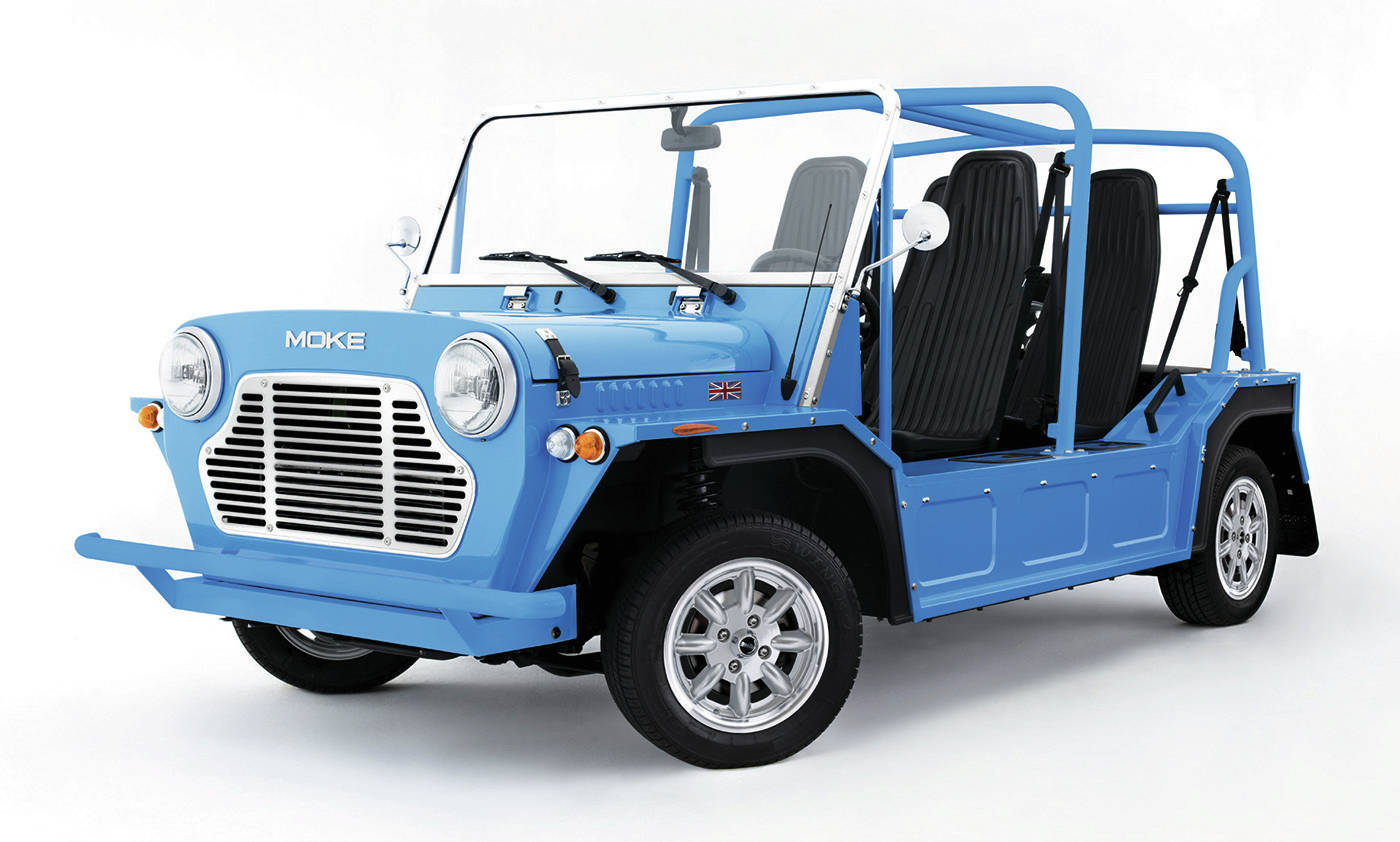The Moke will sell for about $25,000 in the United States. PHOTO: MOKE INTERNATIONAL
