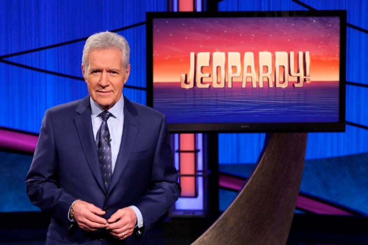"""""""Jeopardy!"""" host Alex Trebek, who lives in Los Angeles, announced his cancer diagnosis in March 2019, in a July 20, 2020 story. (Photo by THE CANADIAN PRESS)"""