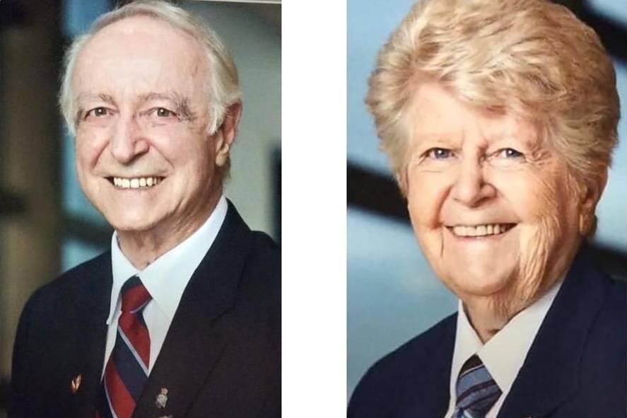 Flying Officer Howard McNamara (Retired) and Cpl. Anne McNamara (Retired) are shown in Veterans Affairs Canada handout photos. THE CANADIAN PRESS/HO-Courtesy McNamara Family