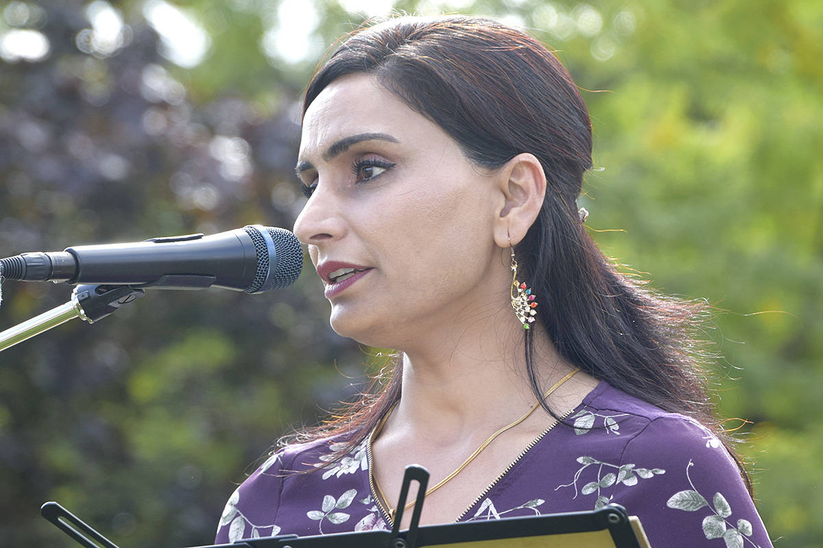 Harwinder Sandhu, a Vernon registered nurse, has won the Vernon-Monashee riding after mail-in and absentee votes were counted. (Black Press - file photo)