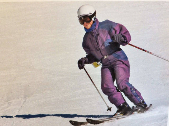 Esmée Estlin skied most of her life. She resumed skiing at 86 and only stopped at 92. She recently marked her 100th birthday. (Estlin family photo