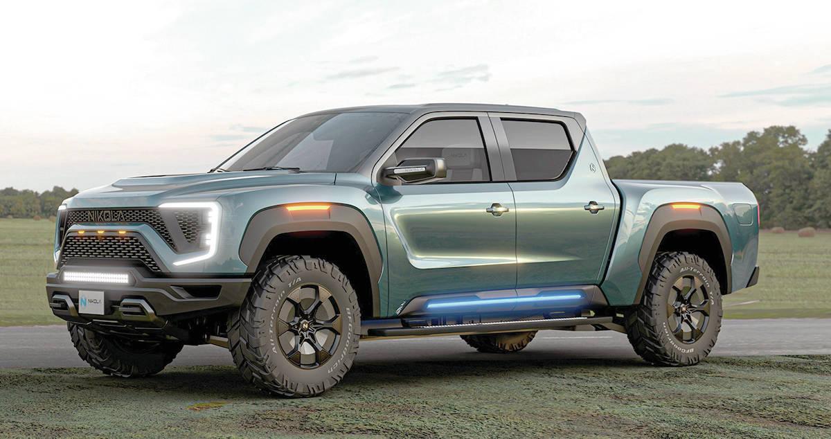 The Nicola Badger will get General Motors Ultium-brand batteries, and GM will get $2 billion in Nicola stock. PHOTO: NICOLA