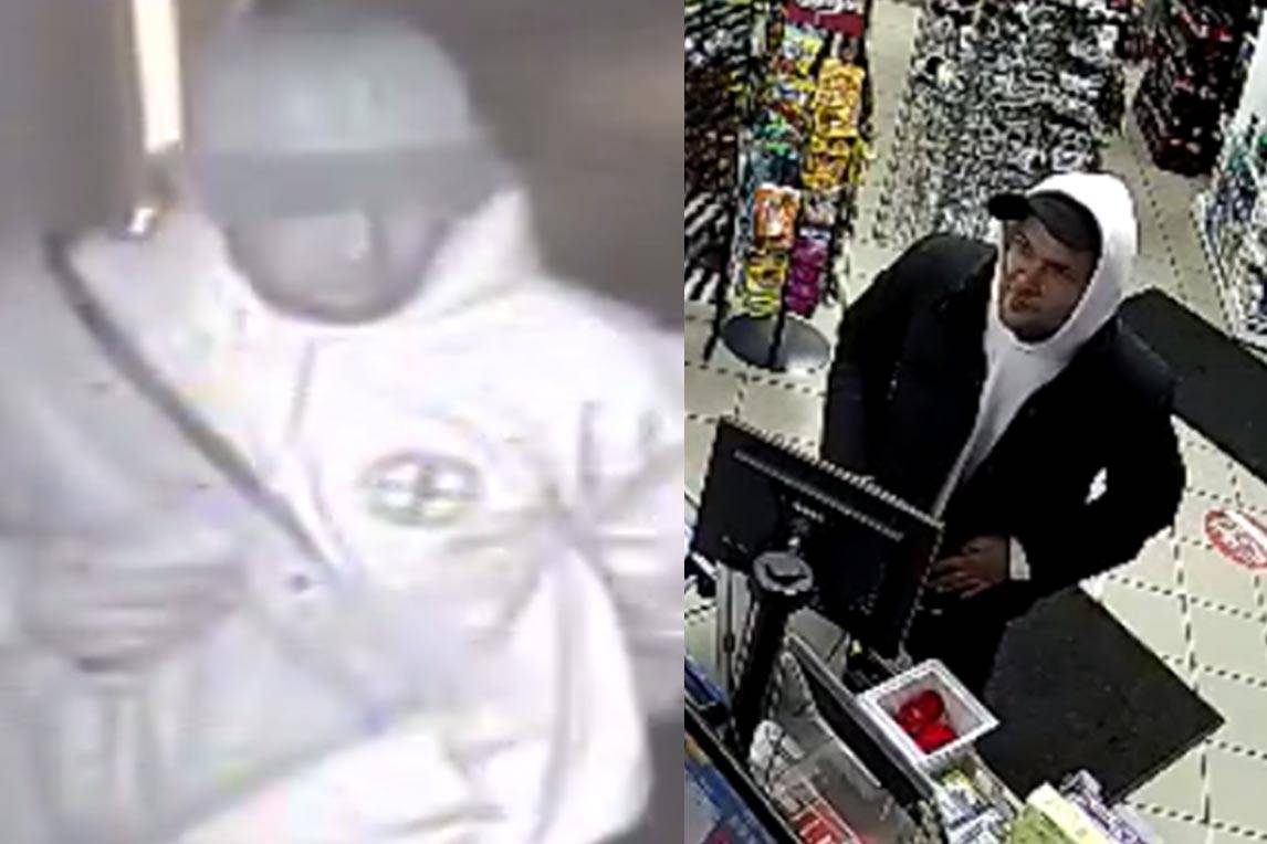 The Abbotsford Police Department is asking for help to identify a suspect(s) in the theft of poppy donation boxes at two local businesses.
