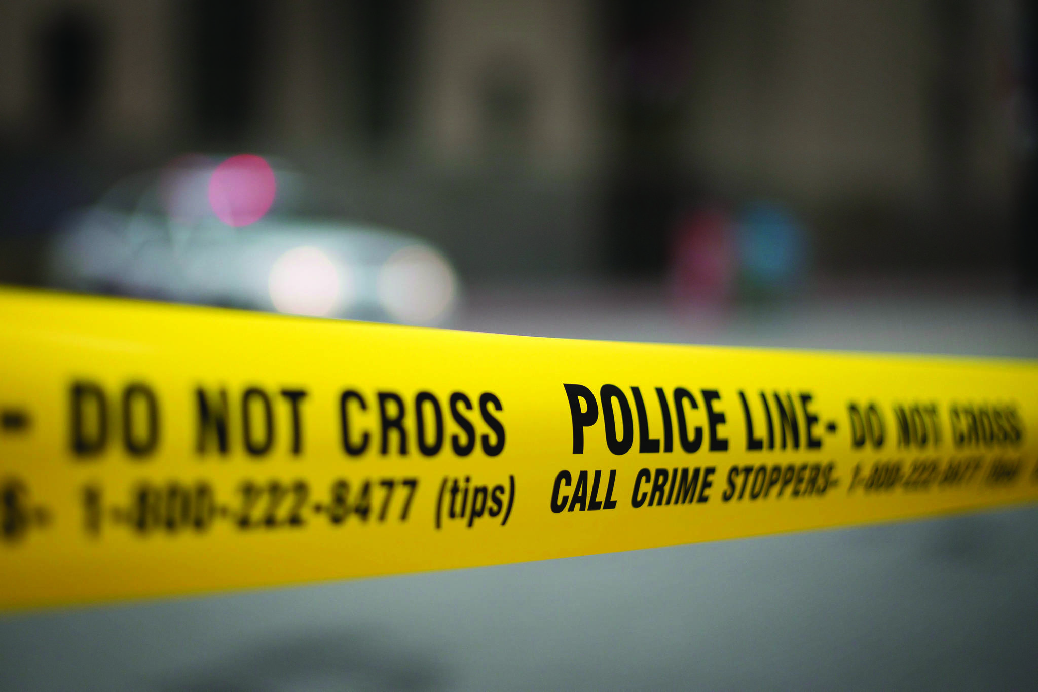 Surrey RCMP blocked off an area around 192nd Street and 68th Avenue to investigate a pedestrian/vehicle collision Nov. 11, 2020. (THE CANADIAN PRESS/Graeme Roy)