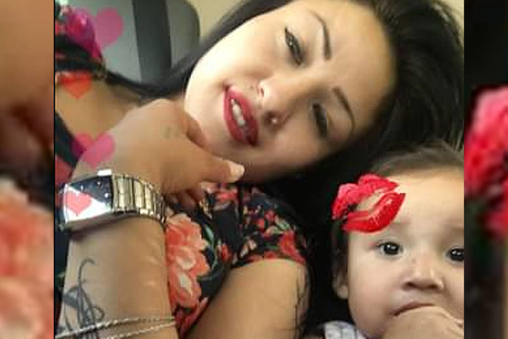 Surrey RCMP are seeking the public's help to locate Naomi Morrisseau and her daughter, Genesis Reign-Soldat, 3. (Photo courtesy of Surrey RCMP)