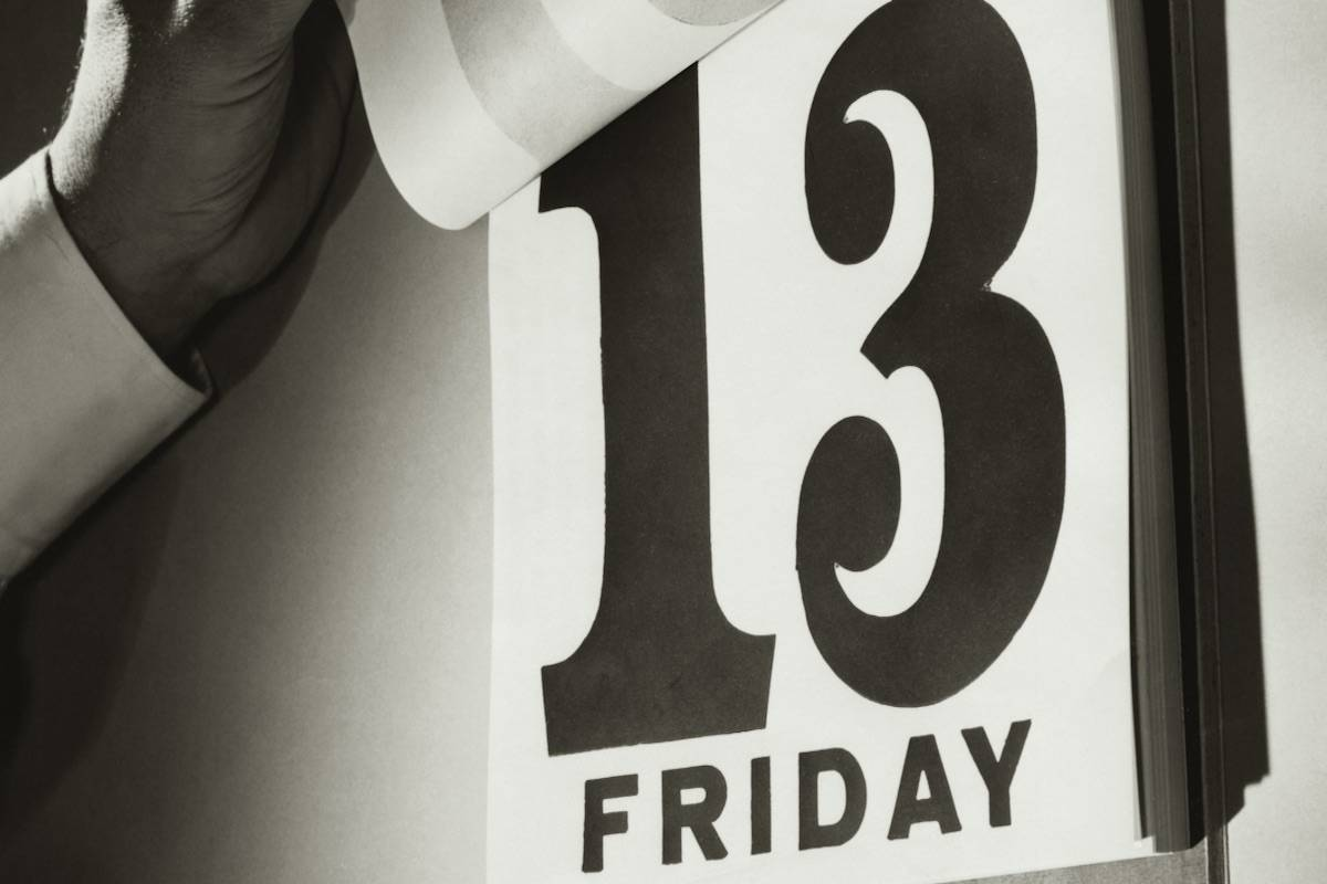Are you afraid of the number 13? (Pixabay)