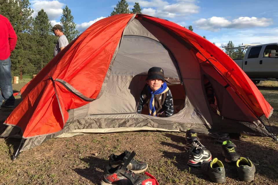 Scouts Canada in B.C. has decided to stop meeting in person because of the rise of COVID cases across the province. (Scouts Okanagan Facebook)