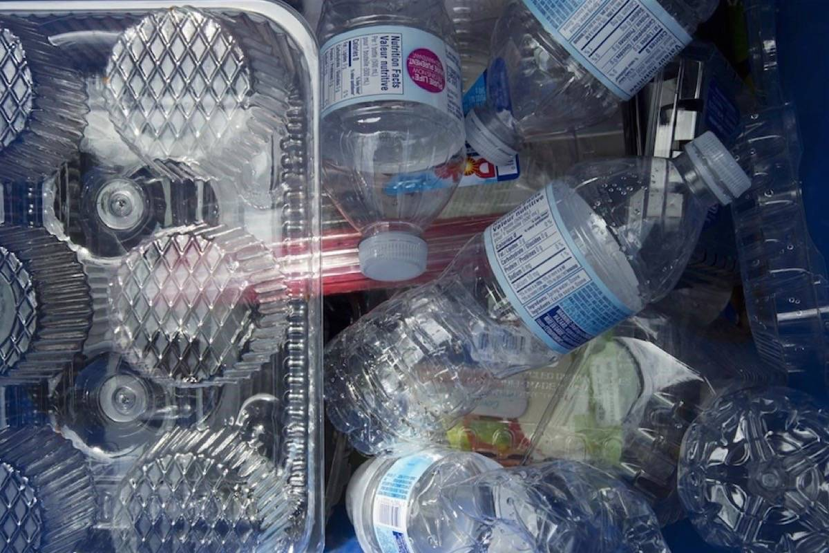 The federal government is investing $2.3 million to learn more about the impacts of plastic pollution on the natural environment and human health. (Photo by THE CANADIAN PRESS)