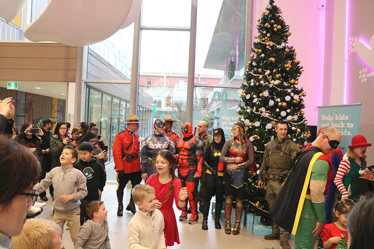 In previous years the Blundell family has organized fundraising events to support Keian's Holiday Wish Toy Drive. (Blundell family/Special to Langley Advance Times)