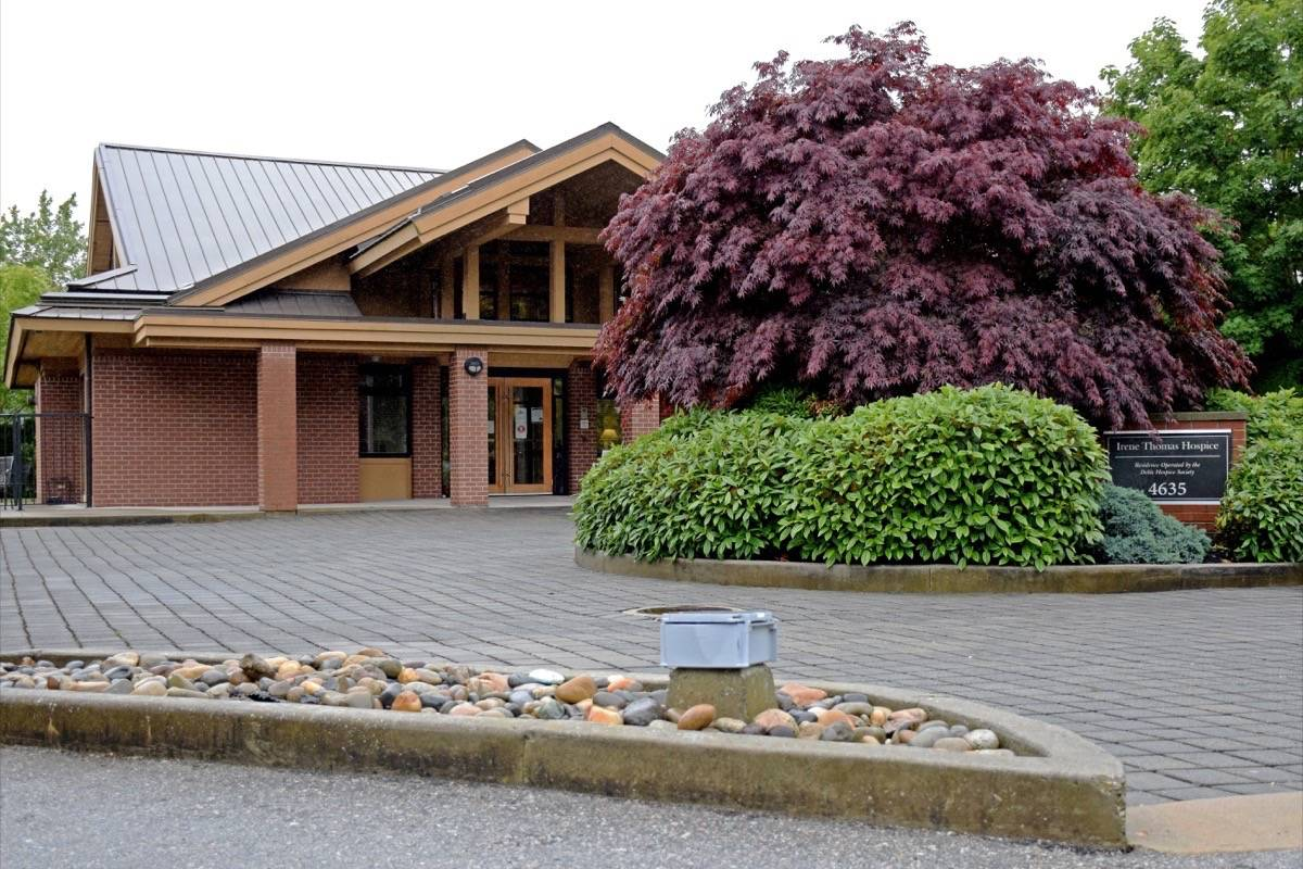 The Delta Hospice Soceity operates the Irene Thomas Hospice in Ladner. (James Smith photo)