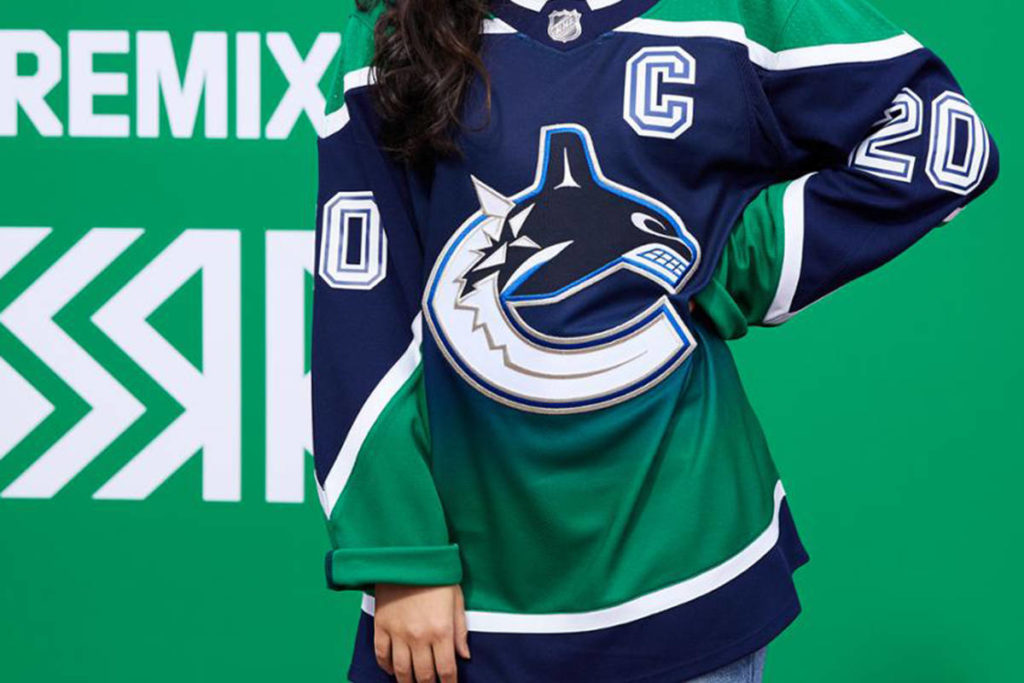 The Canucks 'Reverse Retro' jersey unveiled on Monday, Nov. 16, 2020. (NHL)