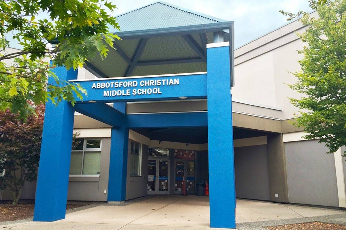 Abbotsford Christian Middle School is temporarily closed due to several COVID-19 cases.