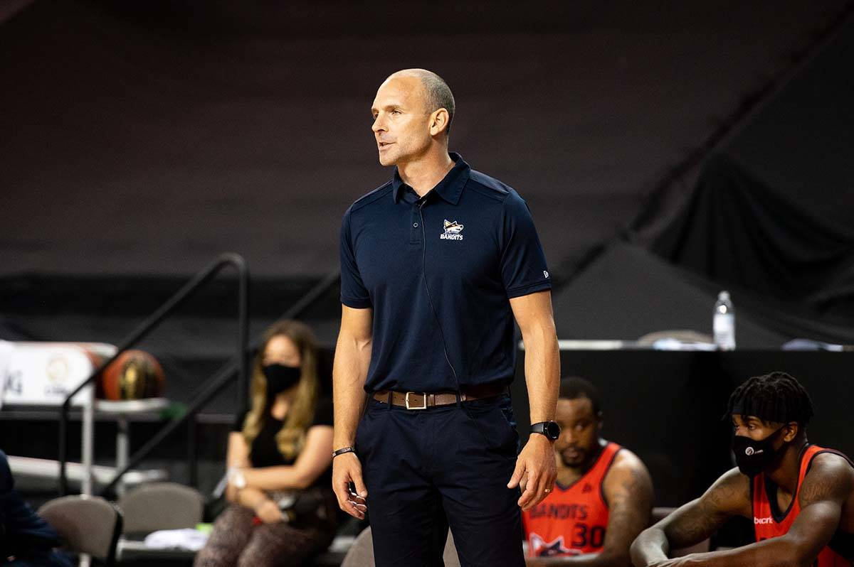 The Fraser Valley Bandits have re-signed head coach and general manager Kyle Julius for the 2021 CEBL season. (Fraser Valley Bandits photo)